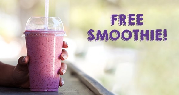 Free Smoothie Day